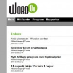 WordOn uppdaterar gränssnittet för affiliates